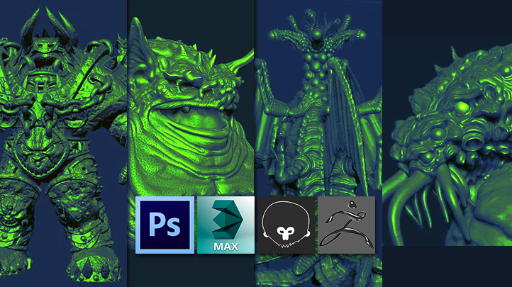 Mastering Digital Design - Learn Digital 3d Sculpting with ZBrush and Mudbox (Part 2)