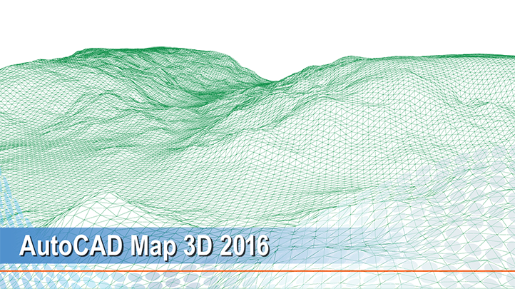 AutoCAD Map 3D 2016: Elevate a whole city