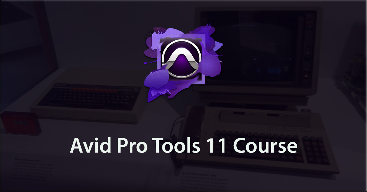 Avid Pro Tools 11: Know how to work with audio