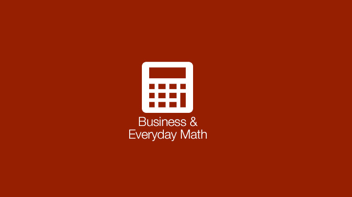 Business & Everyday Math Course