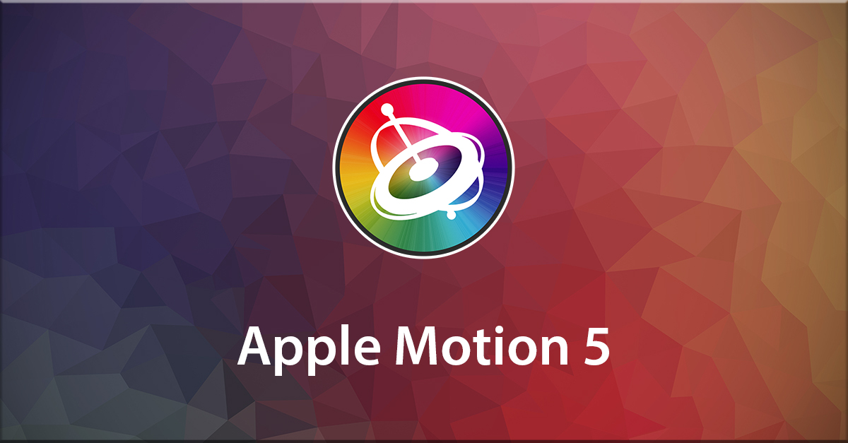 Apple Motion 5