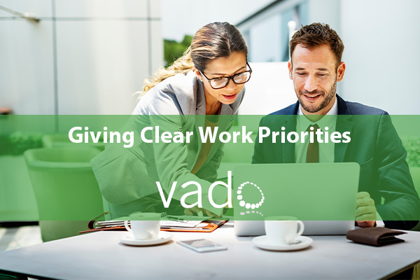 Giving Clear Work Priorities