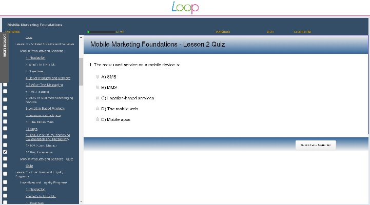 A Marketing Essential - Mobile Marketing Foundations, Singapore elarning online course