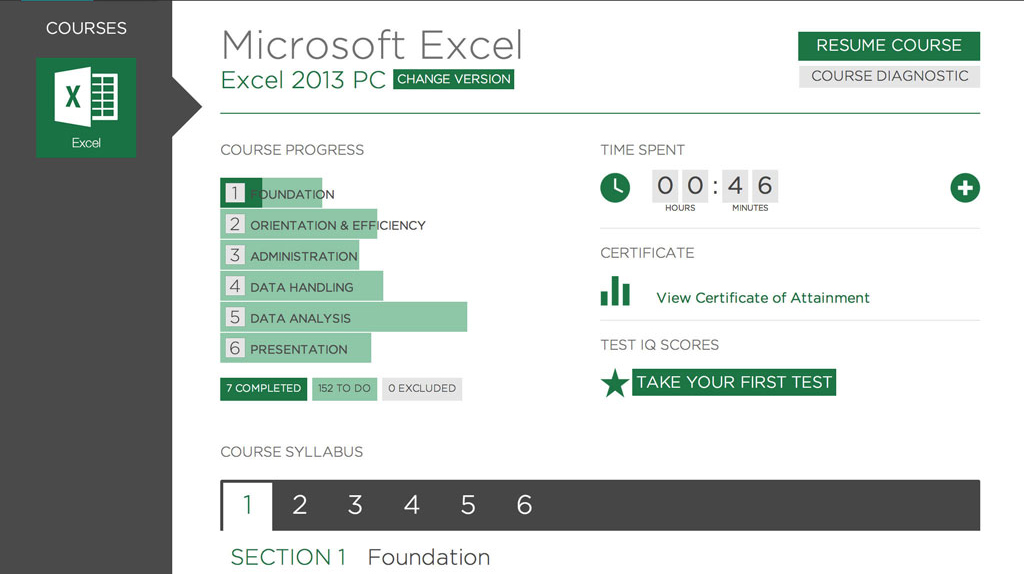 An Essential Online Course Microsoft Excel Course Pc Mac Loop