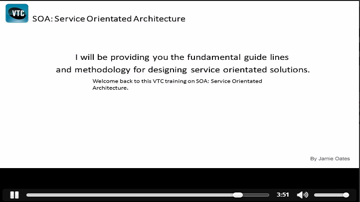 Strategize with Service Oriented Architecture, Singapore elarning online course