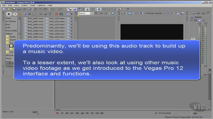 Create Dynamic Videos with Sony Vegas Pro 12, Singapore SKillsFuture elarning online course