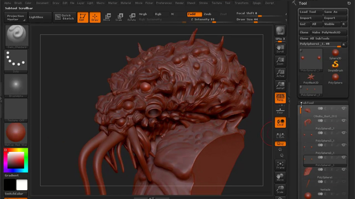 Mastering Digital Design - Learn Digital 3d Sculpting with ZBrush and Mudbox (Part 2), Singapore elarning online course