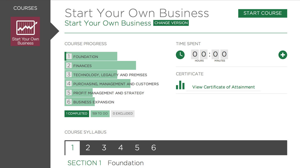 Get Ready and Start Your Own Business: An Essential Course, Singapore elarning online course