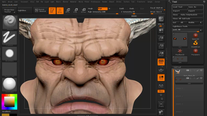 Mastering Digital Design - Learn Digital 3d Sculpting with ZBrush and Mudbox (Part 3) , Singapore elarning online course