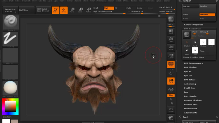 Mastering Digital Design - Learn Digital 3d Sculpting with ZBrush and Mudbox (Part 3) , Singapore SKillsFuture elarning online course