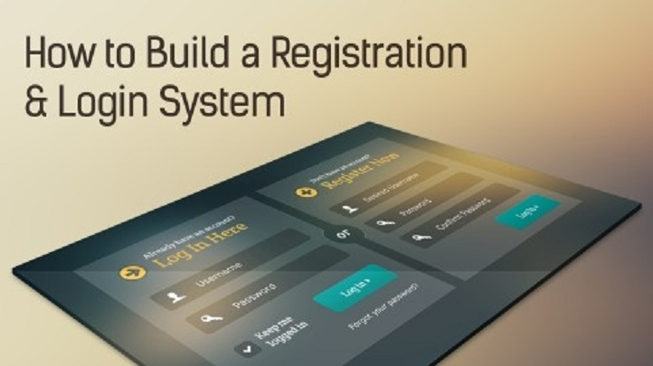 How To Build a Registration and Login System, Singapore elarning online course