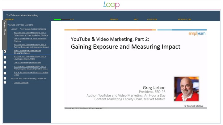 A Marketing Essential - YouTube and Video Marketing, Singapore elarning online course