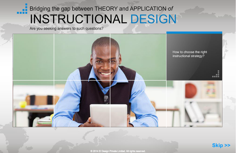 A Guide on Instructional Design Theories and Design Application, Singapore elarning online course