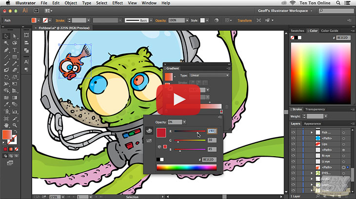 Getting Started with Adobe Illustrator CC, Singapore elarning online course
