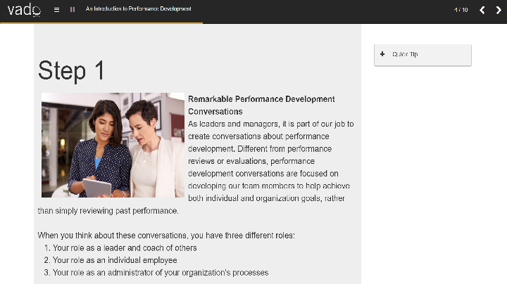 Performance Management and Development - For Business and Project Management, Singapore SKillsFuture elarning online course
