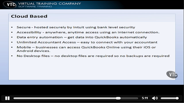 QuickBooks 2012, Singapore elarning online course