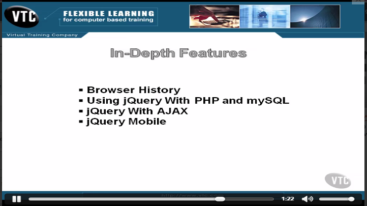 Write Less and Do More with jQuery, Singapore elarning online course