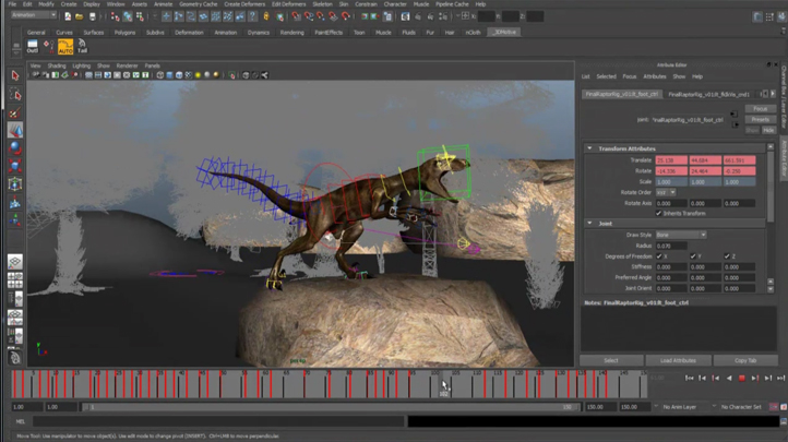 Mastering Digital Design - Learn to Animate Creatures and Characters for Games and Film (Part 2), Singapore elarning online course
