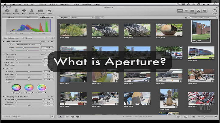Manage your Photographs with Aperture 3, Singapore elarning online course