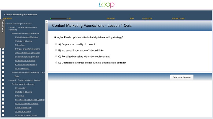 A Marketing Essential - Content Marketing Foundations, Singapore elarning online course