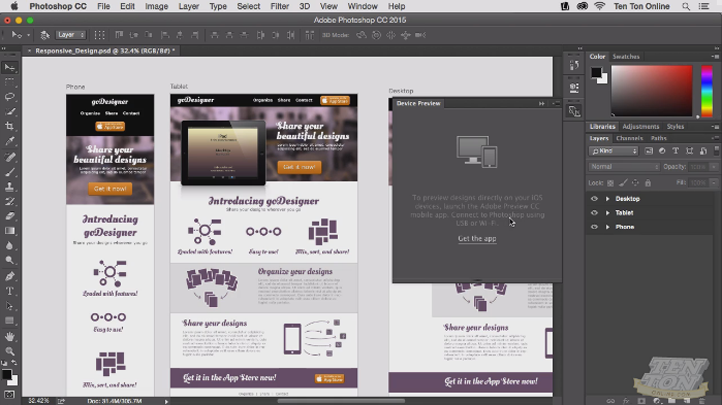 Getting Started with Adobe Photoshop CC, Singapore SKillsFuture elarning online course