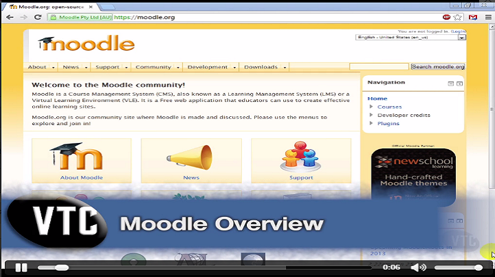 Explore Learning Managing Systems with Moodle 2016, Singapore elarning online course